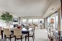 Dining & living areas - 1300 ARMY NAVY DR #1009, ARLINGTON