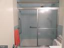bathtub with shower - 2939 VAN NESS ST NW #726, WASHINGTON