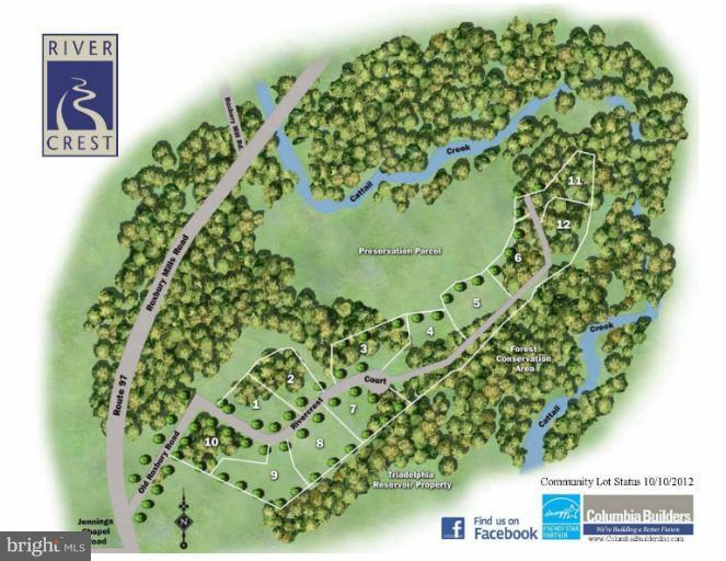 Land for Sale at 15445 Rivercrest Ct Brookeville, Maryland 20833 United States