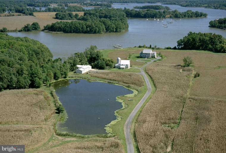 Farm for Sale at 5135 Crosby Rd Rock Hall, Maryland 21661 United States