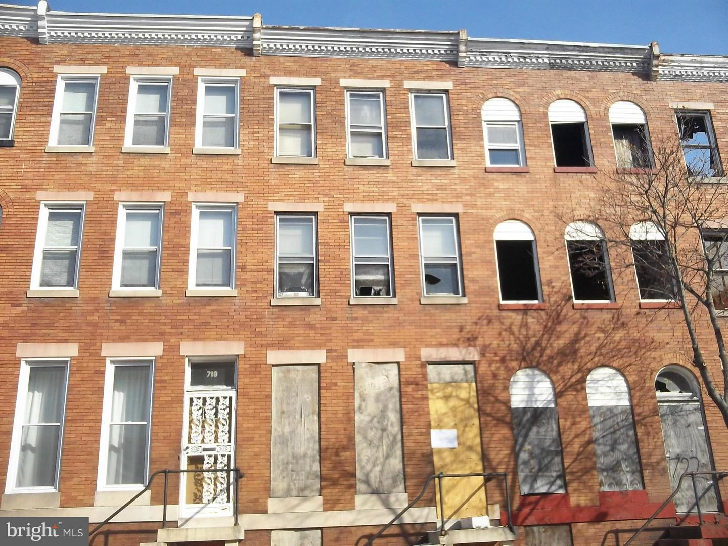 Photo of home for sale at 720 21st Street, Baltimore MD