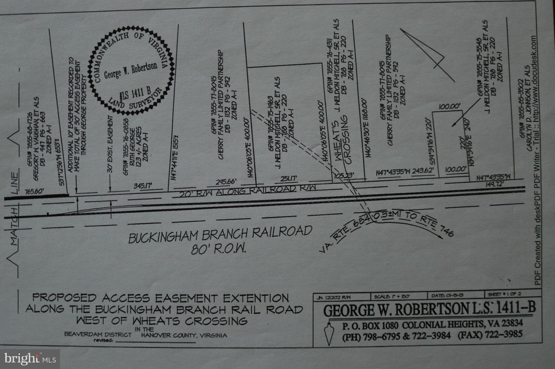 Land for Sale at Verdon Rd W Beaverdam, Virginia 23015 United States