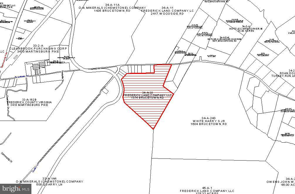Land for Sale at 1574 Brucetown Rd Clear Brook, Virginia 22624 United States