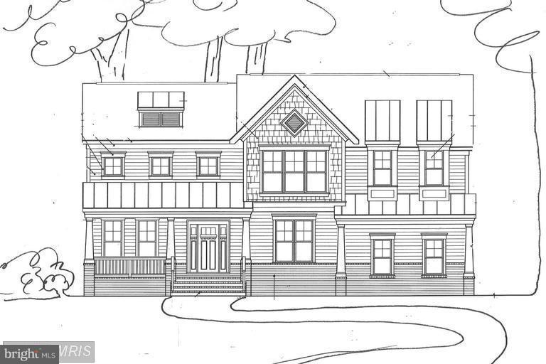 Devonshire ARts & Crafts Style Home - 6112 COLCHESTER RD, FAIRFAX