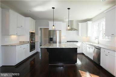 Model Home Kitchen - 6112 COLCHESTER RD, FAIRFAX
