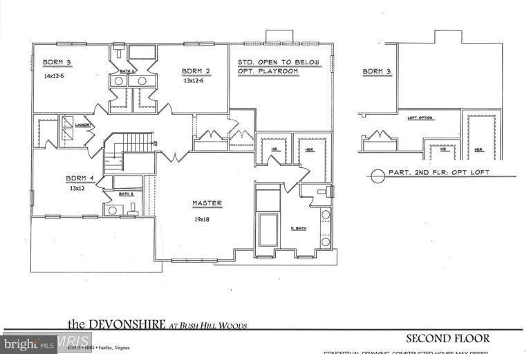 Devonshire Floor Plan - Main Level - 6112 COLCHESTER RD, FAIRFAX