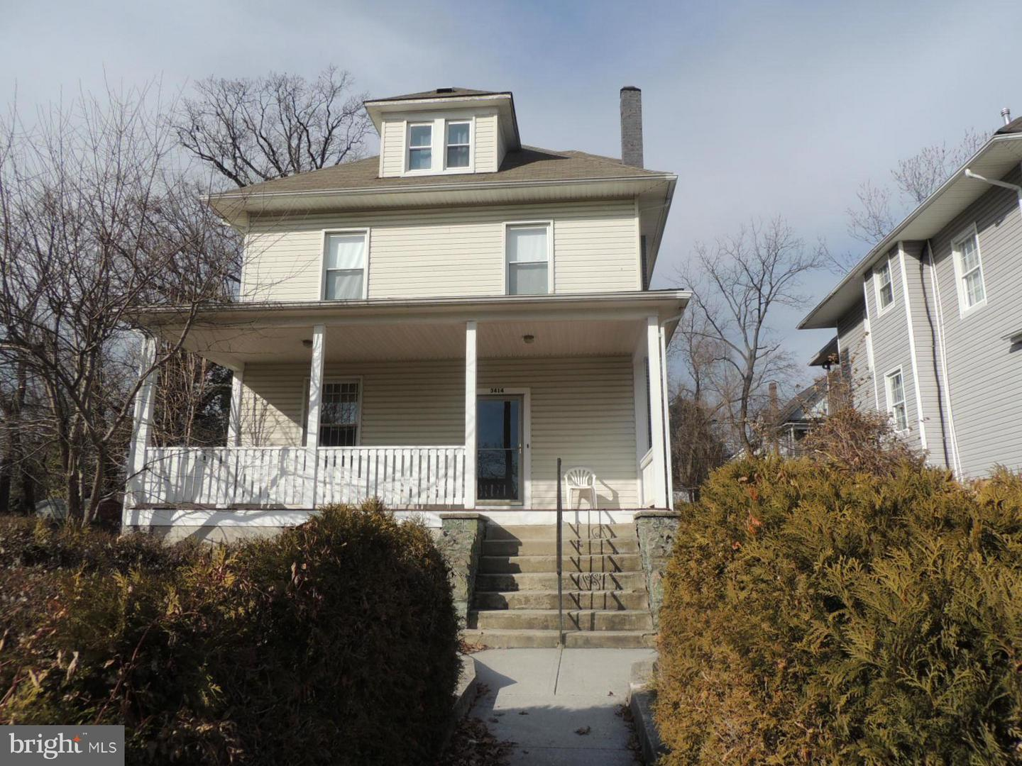 Photo of home for sale at 3414 Carlisle Avenue, Baltimore MD