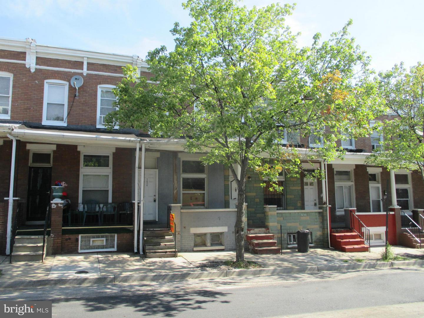 Single Family for Sale at 1624 Normal Ave Baltimore, Maryland 21213 United States