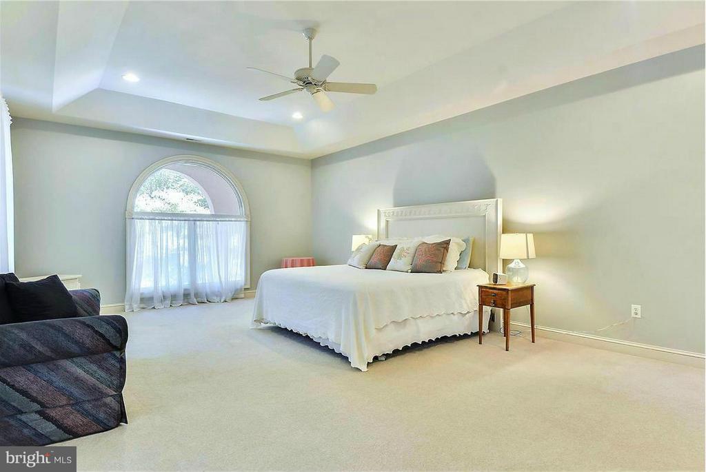 Grandiose Master Bedroom - 1808 RIVER WATCH LN, ANNAPOLIS