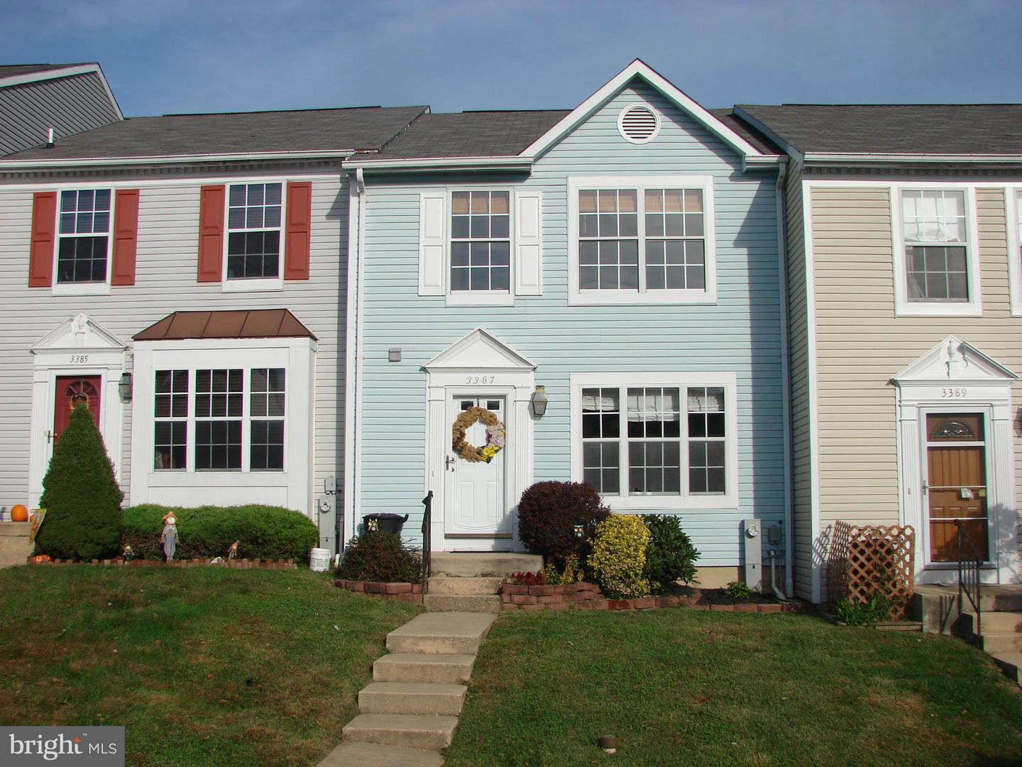 Other Residential for Rent at 3387 Garrison Cir Abingdon, Maryland 21009 United States