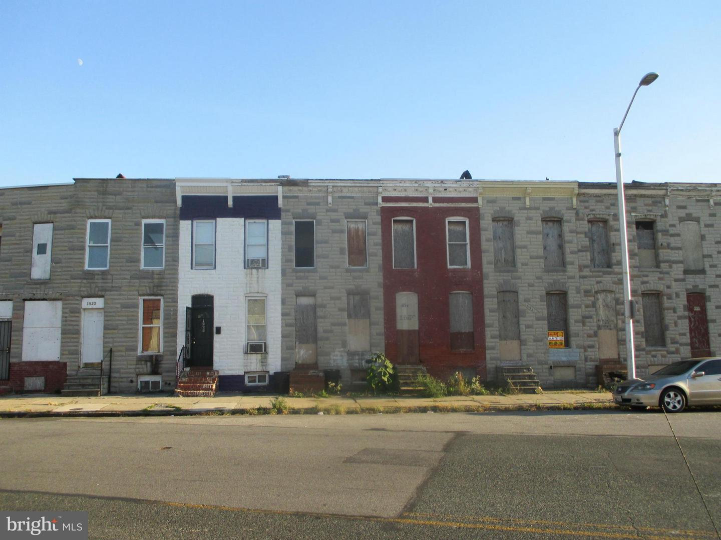 Photo of home for sale at 1931 Ramsay Street, Baltimore MD