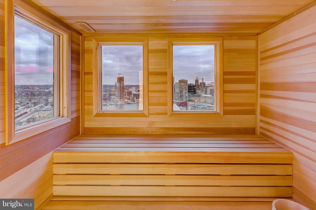 Sauna with a view - 300 INTERNATIONAL DR #2701, BALTIMORE