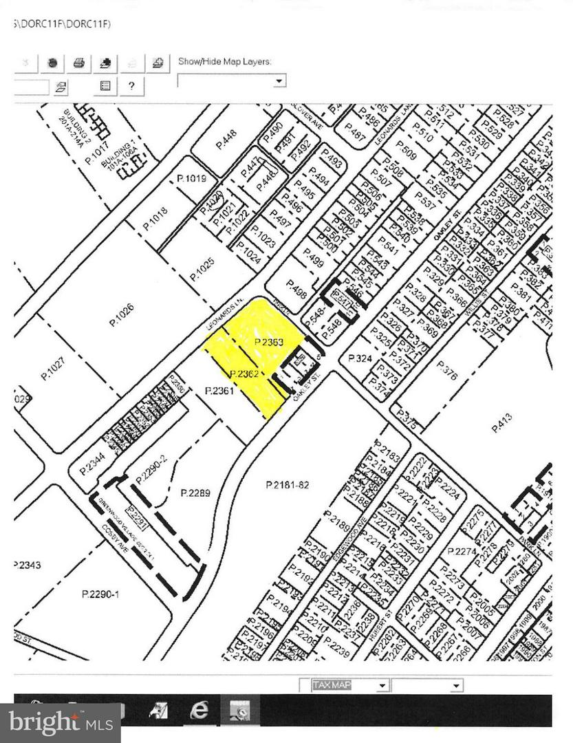 Land for Sale at 1002 Park Ln Cambridge, Maryland 21613 United States