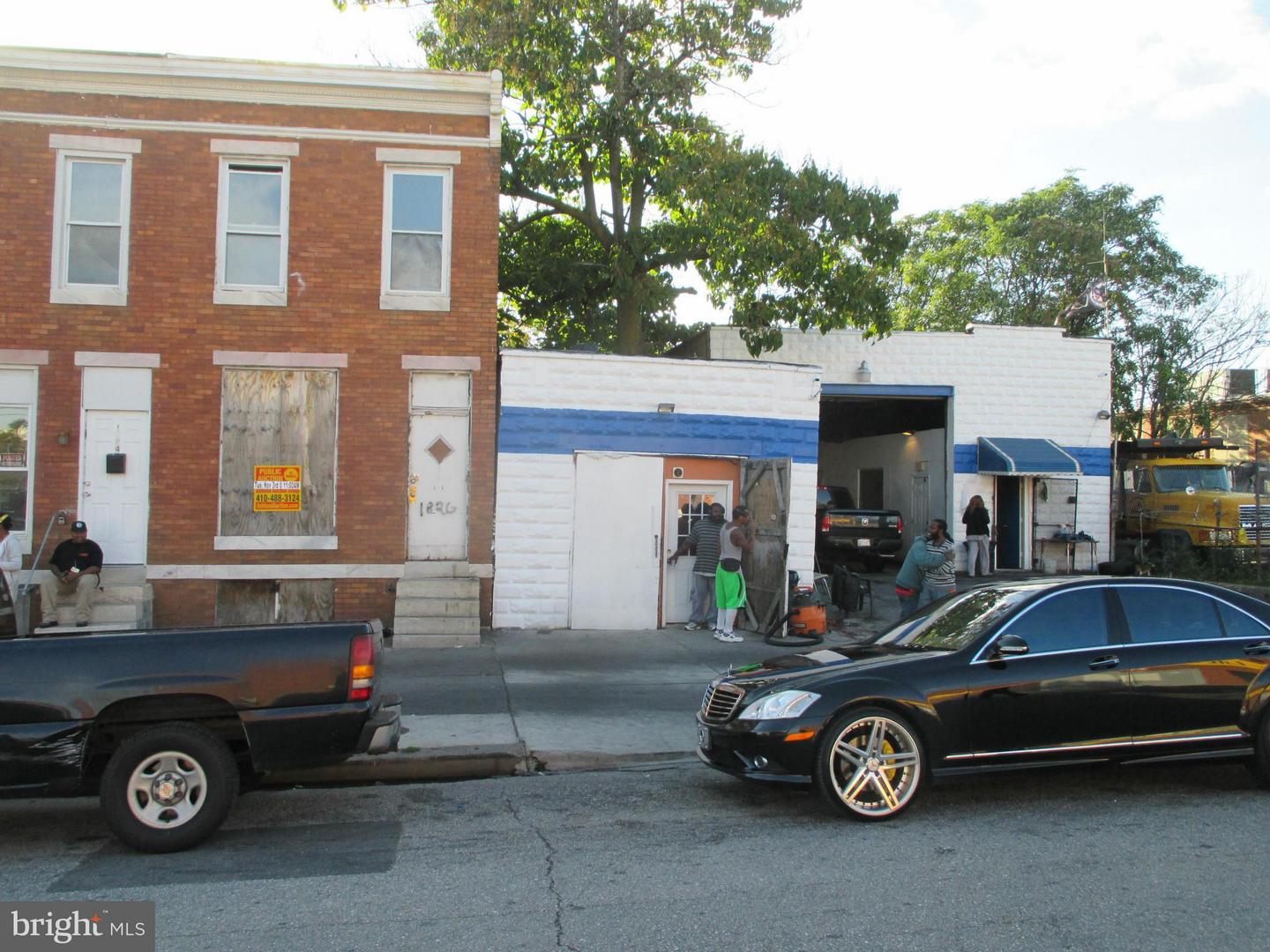 Photo of home for sale at 1826 Milton Avenue N, Baltimore MD