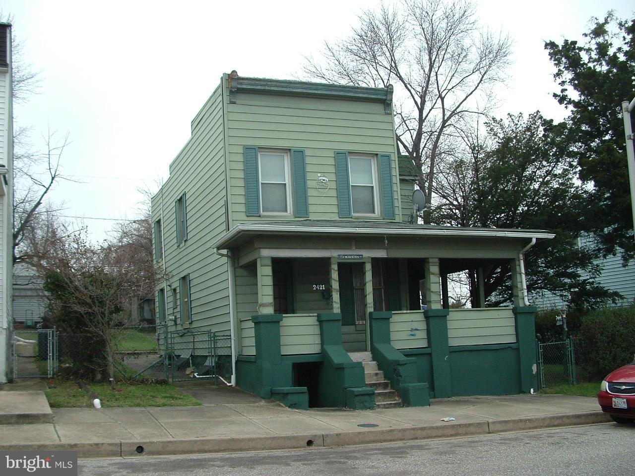 Photo of home for sale at 2421 Huron Street, Baltimore MD