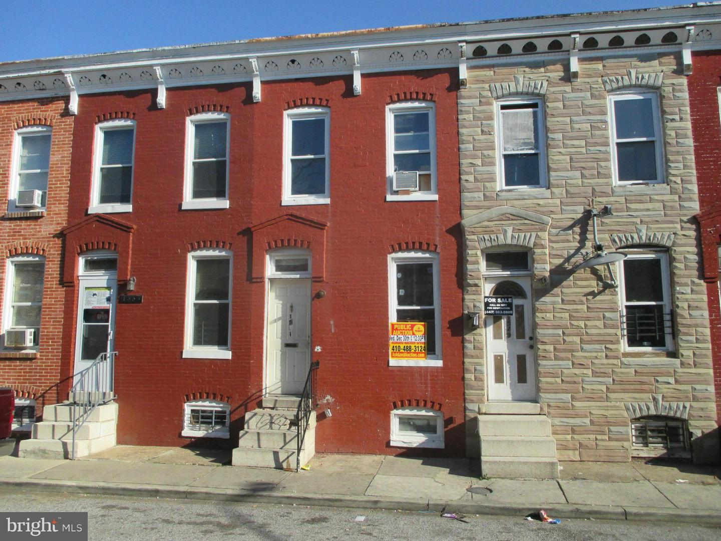 Photo of home for sale at 1551 Woodyear Street, Baltimore MD