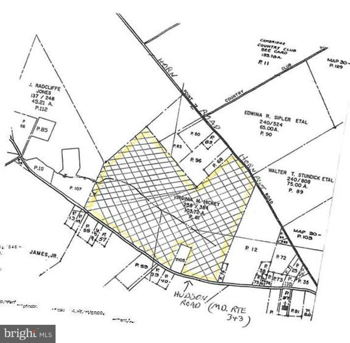 Land for Sale at Hudson Road (Md. Rte 343) Cambridge, Maryland 21613 United States