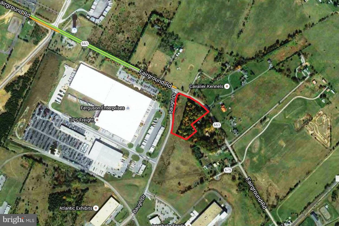Land for Sale at 0 Fairground Rd Front Royal, Virginia 22630 United States