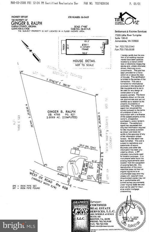 Exterior (General) - 3611 WEST OX RD, FAIRFAX