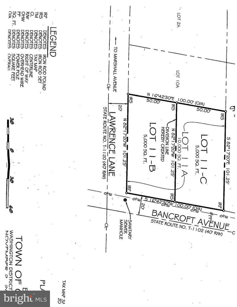 Photo of home for sale at 1229 Bancroft Lot 11-B Avenue, Colonial Beach VA