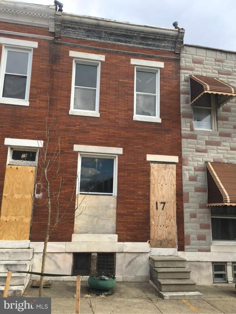 Single Family for Sale at 17 Catherine St N Baltimore, Maryland 21223 United States