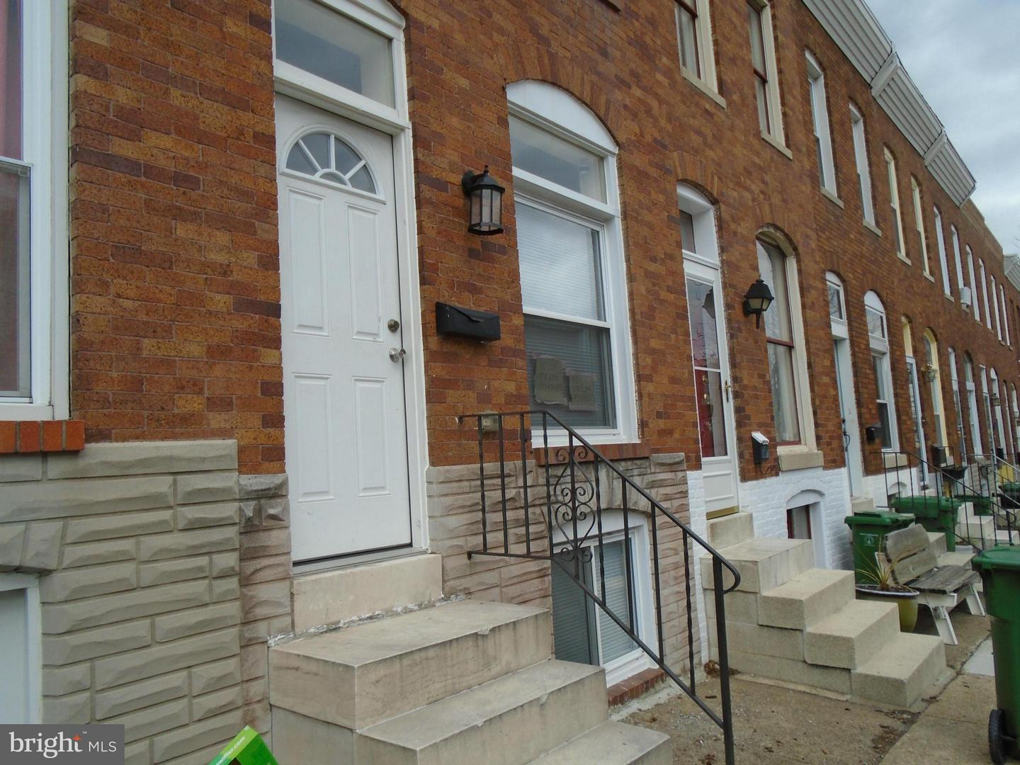 Single Family for Sale at 2504 Fleet St Baltimore, Maryland 21224 United States