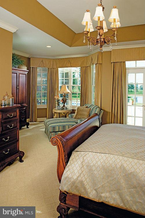 Bedroom (Master) - 14292 HARRISVILLE RD, MOUNT AIRY