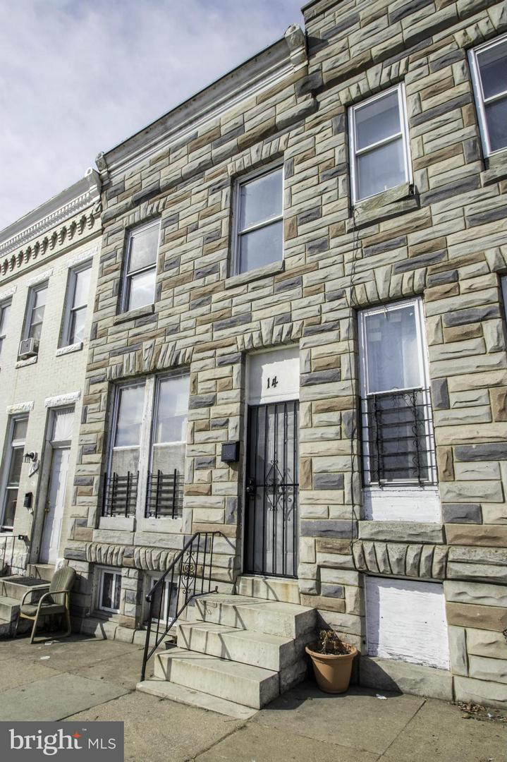 Photo of home for sale at 14 Monroe Street, Baltimore MD