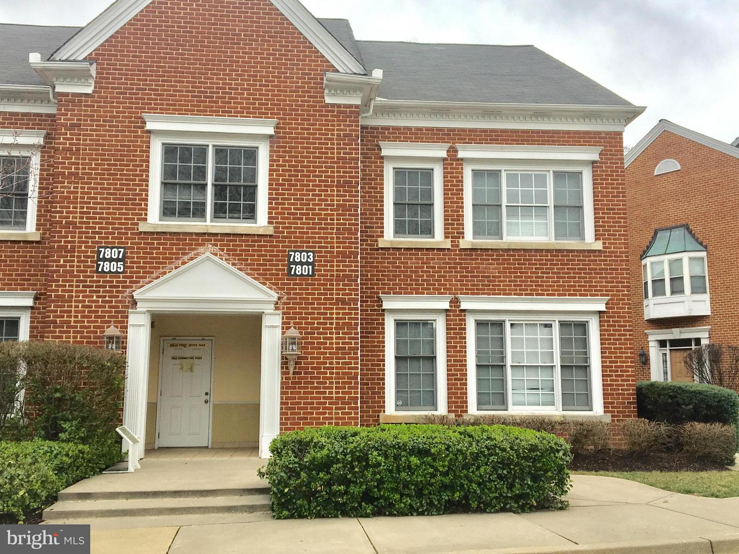 Photo of home for sale at 7803 Belle Point Drive, Greenbelt MD