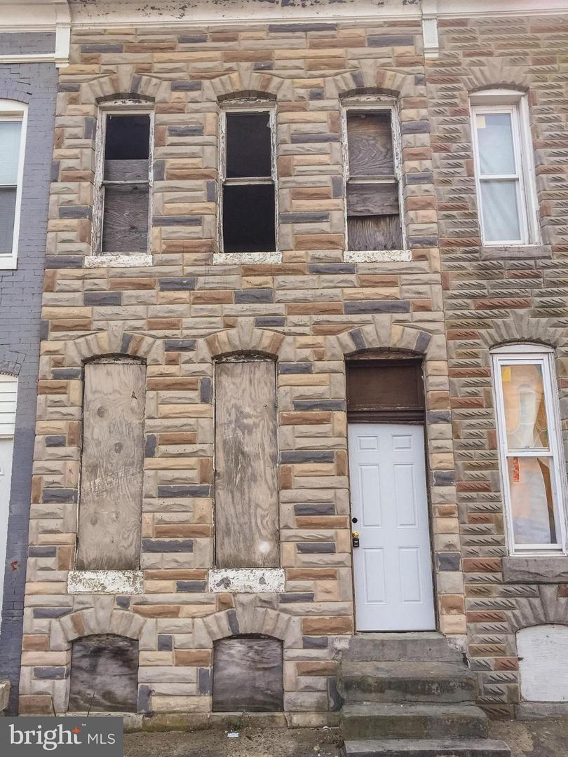 Photo of home for sale at 2411 Biddle Street E, Baltimore MD
