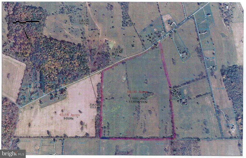 Aerial (66.5 acres) - 537 LONGMARSH RD, BERRYVILLE
