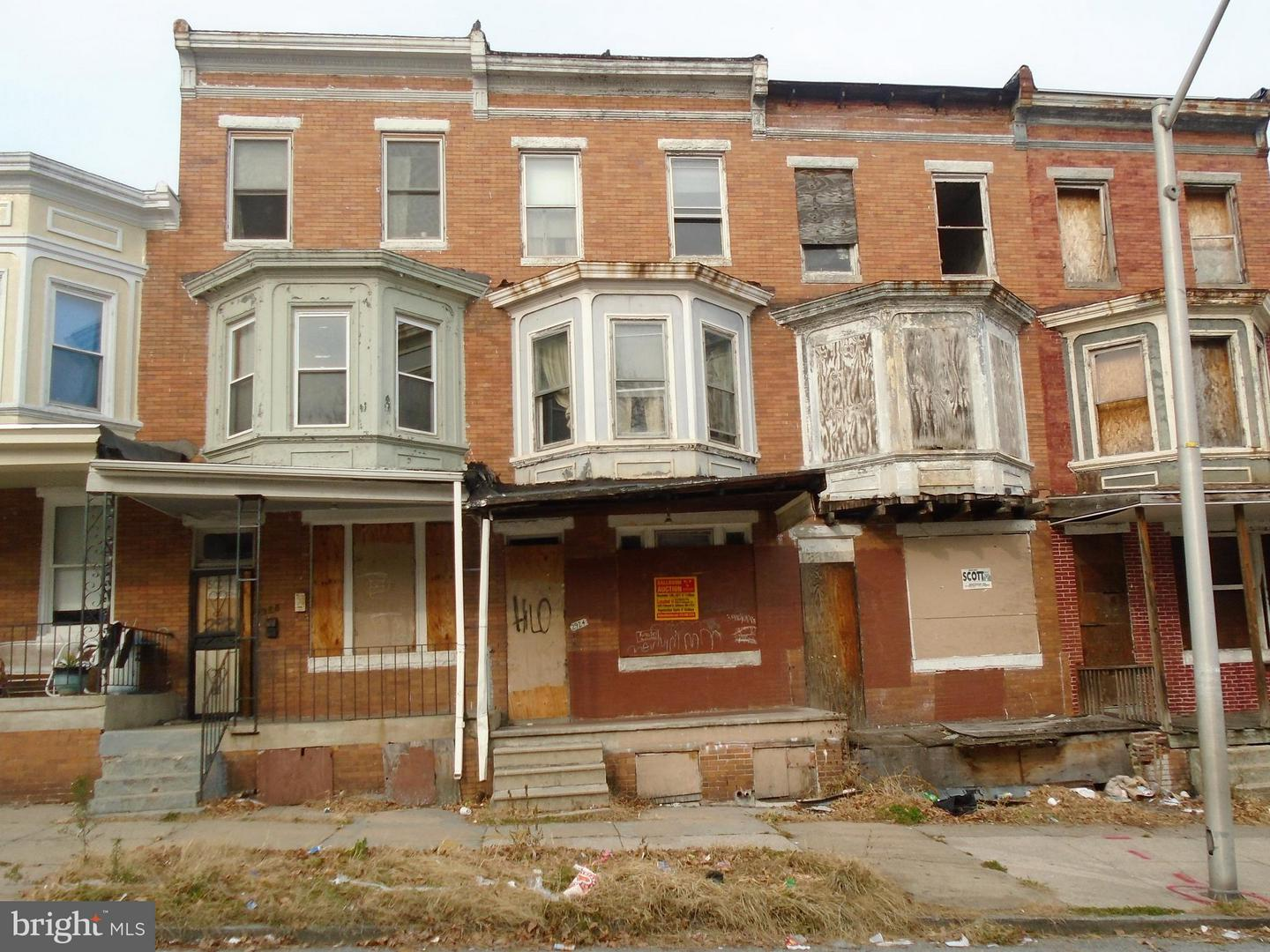Single Family for Sale at 2924 Westwood Ave Baltimore, Maryland 21216 United States
