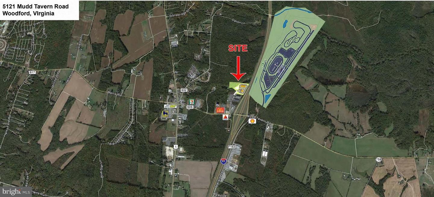 Land for Sale at 5121 Mudd Tavern Rd Woodford, Virginia 22580 United States