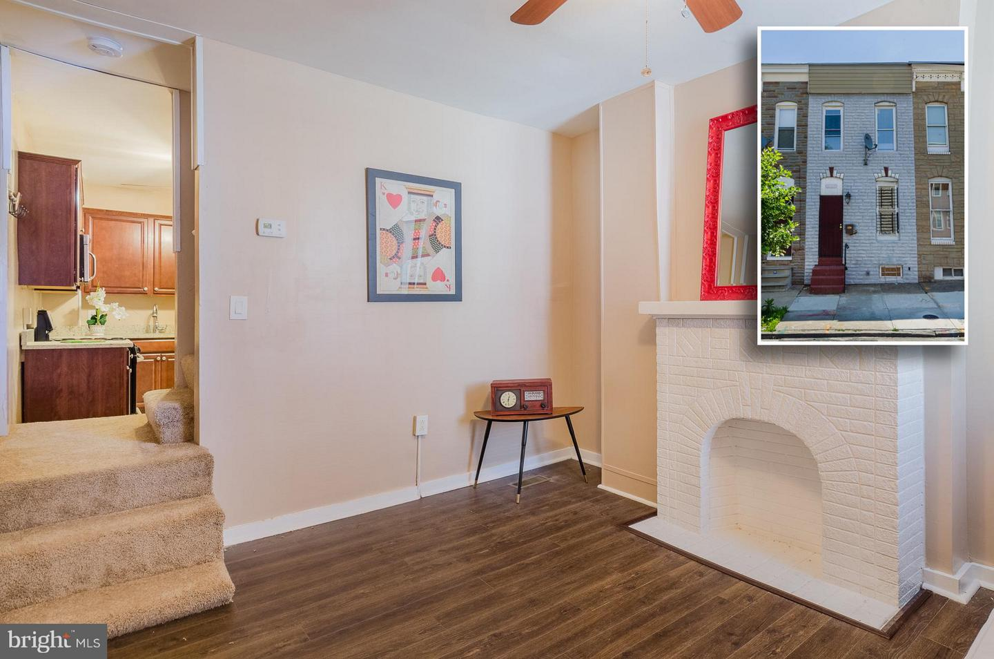 Photo of home for sale at 505 Patterson Park Avenue N, Baltimore MD