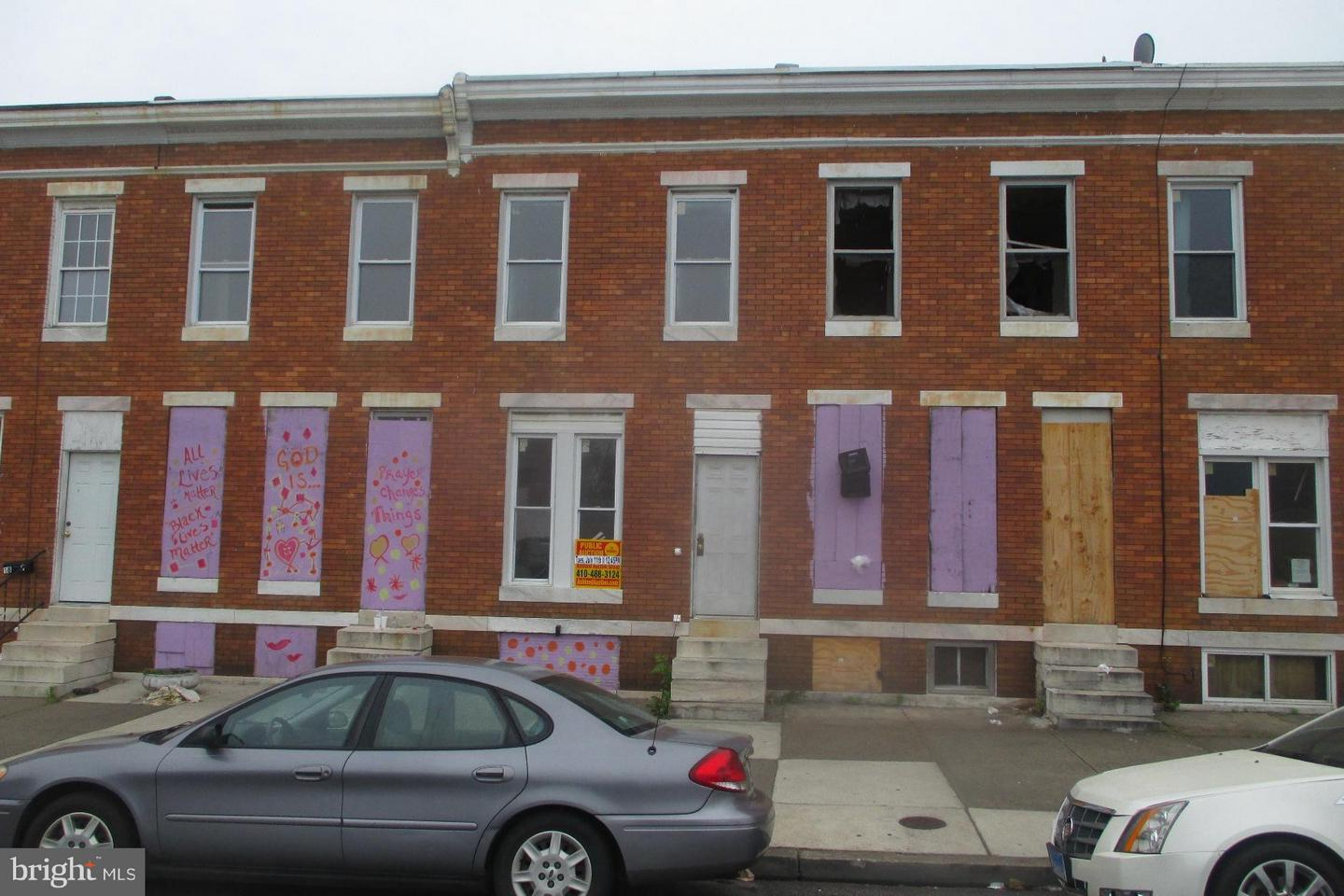Single Family for Sale at 1814 Milton Ave N Baltimore, Maryland 21213 United States