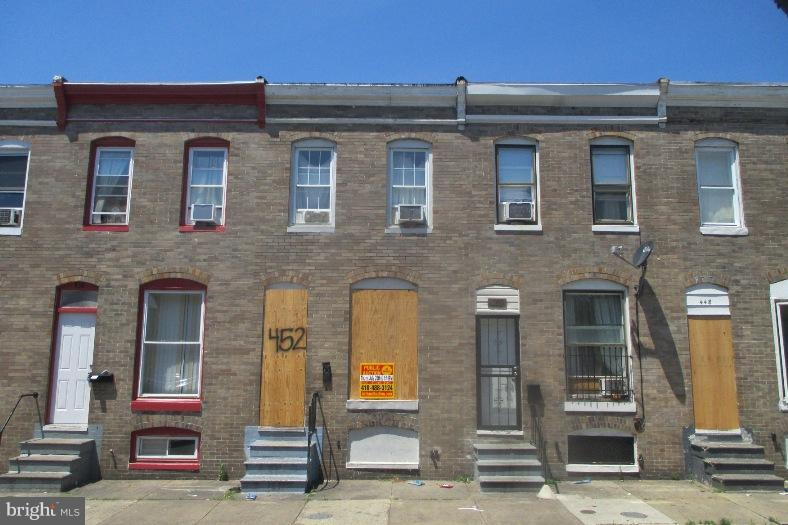 Single Family for Sale at 452 Furrow St Baltimore, Maryland 21223 United States