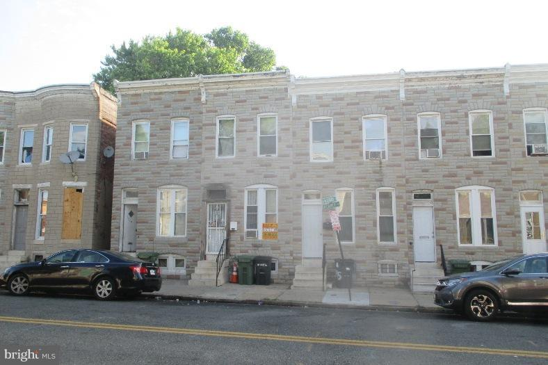 Single Family for Sale at 1717 Carey St N Baltimore, Maryland 21217 United States