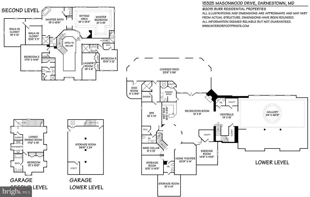 Floor Plan - 15325 MASONWOOD DR, GAITHERSBURG