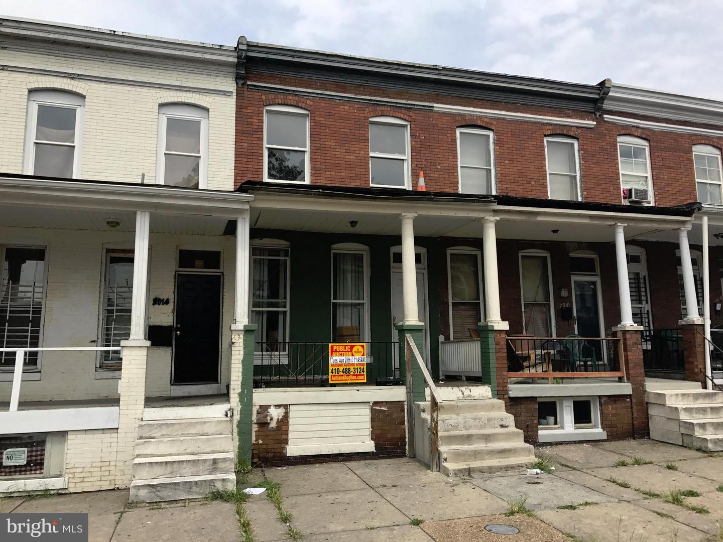 Single Family for Sale at 2016 Robb St Baltimore, Maryland 21218 United States