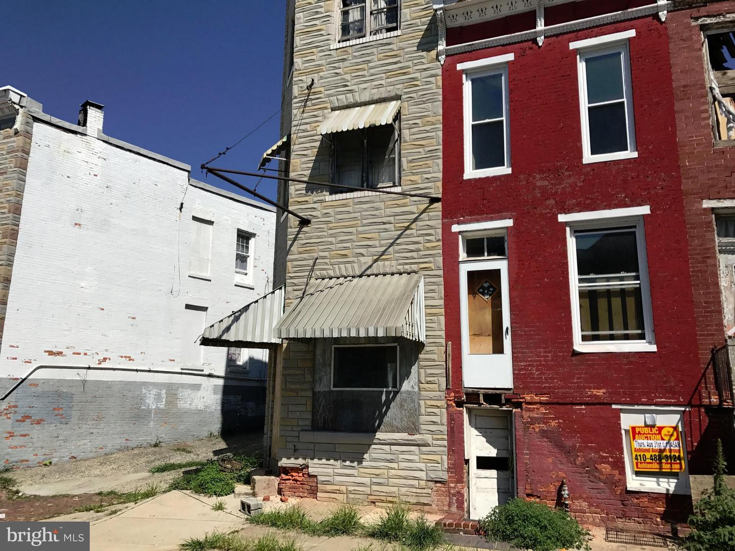 Photo of home for sale at 1924 Frederick Avenue, Baltimore MD