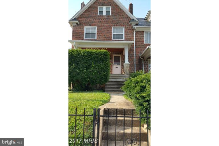 Photo of home for sale at 4134 Edmondson Avenue, Baltimore MD