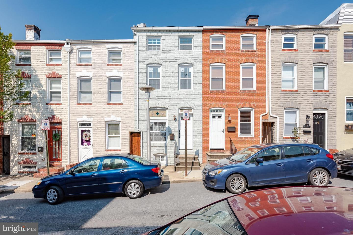 Photo of home for sale at 228 Castle Street S, Baltimore MD