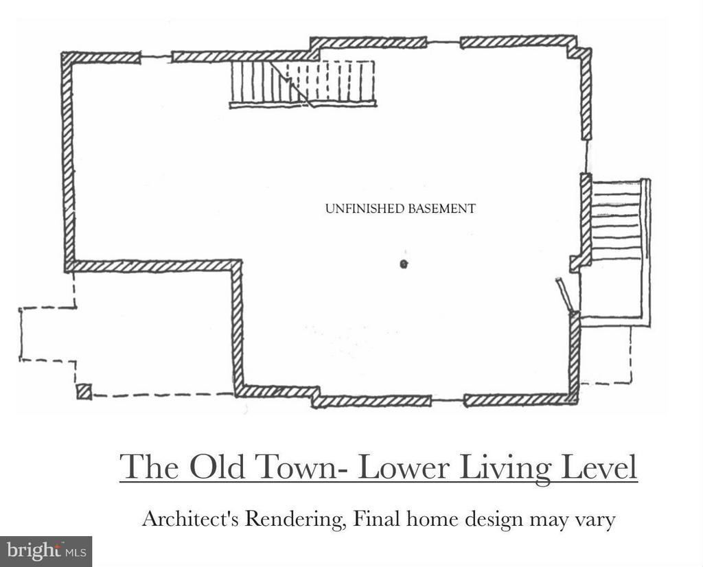 Lower Level of the Old Town Model - 4708 HOWARD LN, COLLEGE PARK