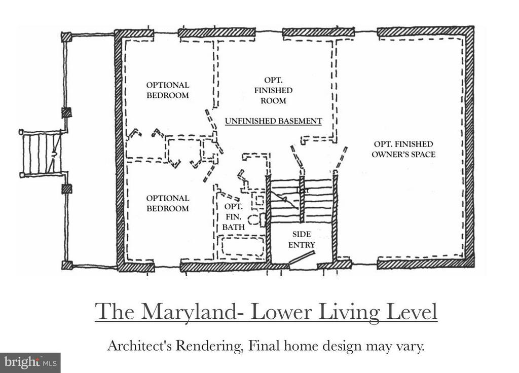 Lower Level of the Maryland Model - 4708 HOWARD LN, COLLEGE PARK