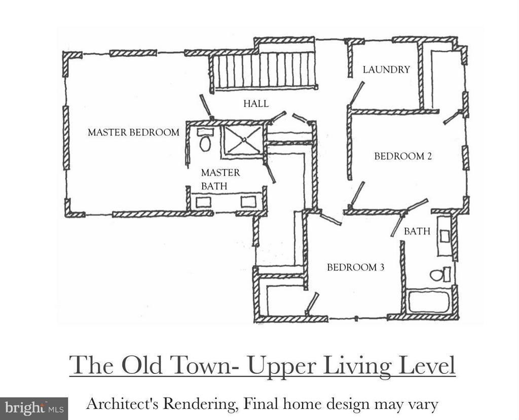 The Upper Level of the Old Town Model - 4712 HOWARD LN, COLLEGE PARK