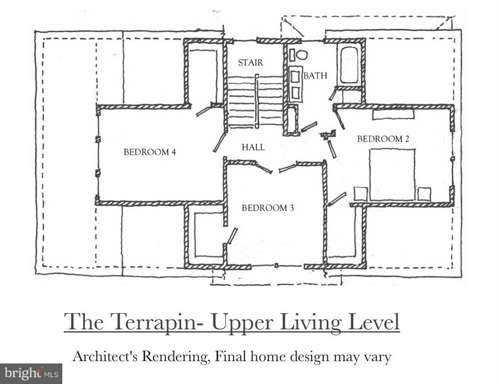 The Upper Level of the Terrapin Model - 4712 HOWARD LN, COLLEGE PARK