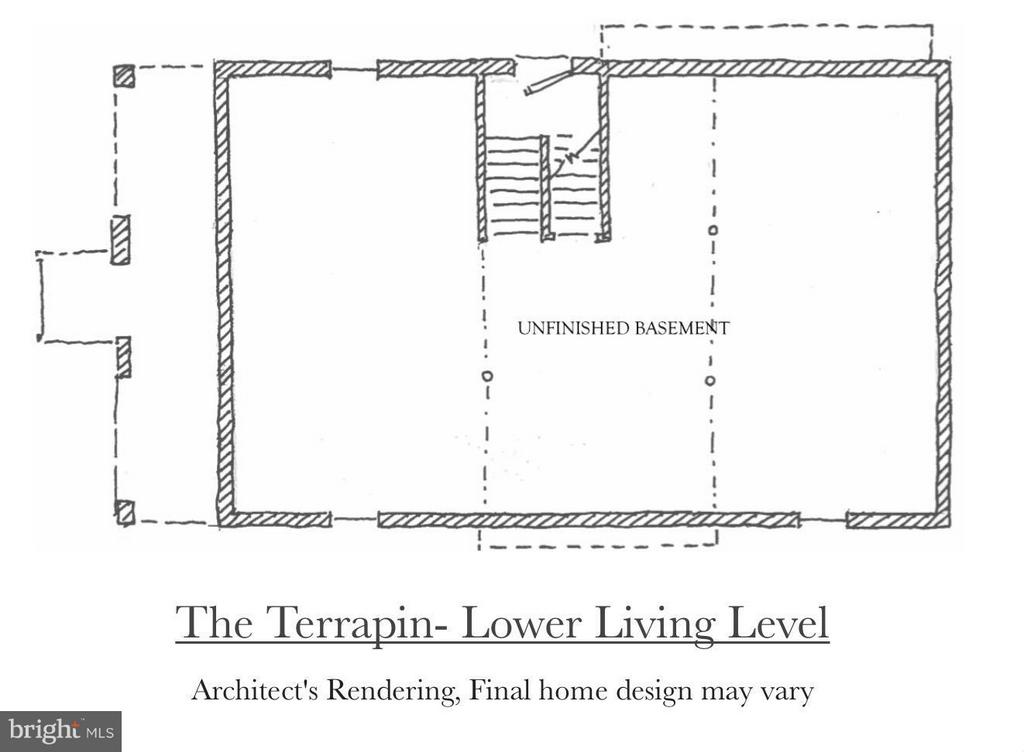 The Lower Level of the Terrapin Model - 4712 HOWARD LN, COLLEGE PARK