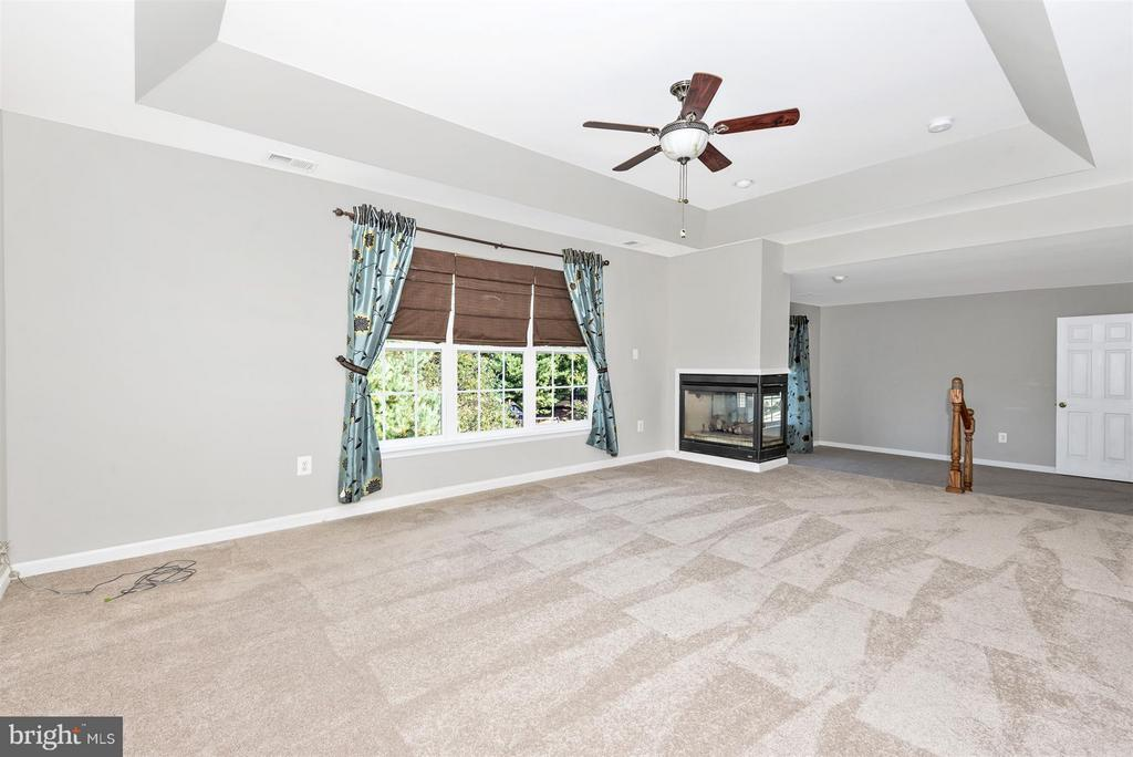 Massive Master Bedroom with fireplace - 6830 WOODCREST RD, NEW MARKET