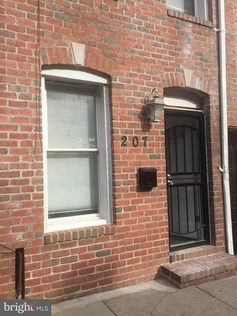 Single Family for Sale at 207 Regester St S Baltimore, Maryland 21231 United States