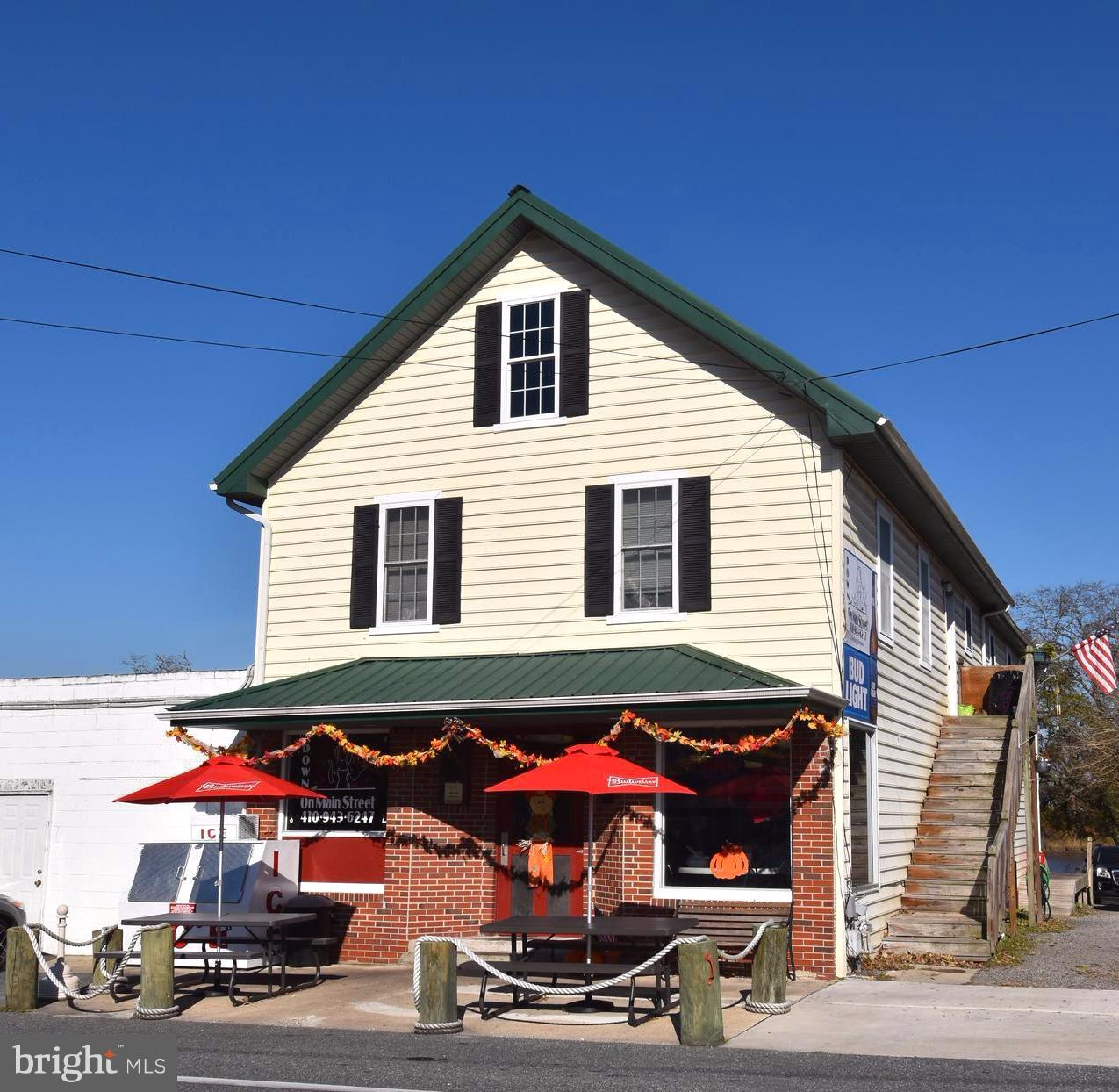 Commercial for Sale at 107 Main St Secretary, Maryland 21664 United States